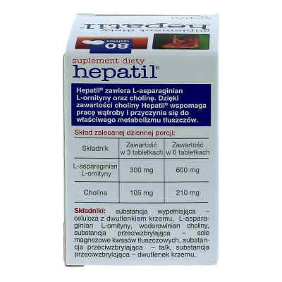 Hepatil tabletki  zamów na apo-discounter.pl