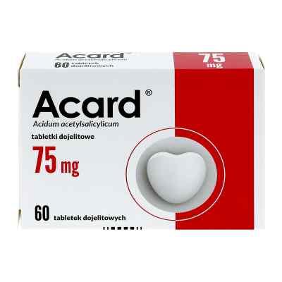 Acard 75 mg tabletki dojelitowe  zamów na apo-discounter.pl