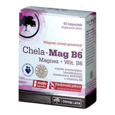 Olimp Chela-Mag B6 kapsułki  zamów na apo-discounter.pl