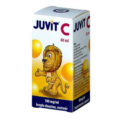 Juvit C krople 0,1g/ml  zamów na apo-discounter.pl