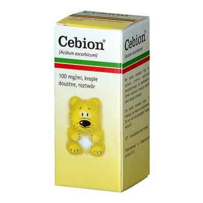 Cebion krople doustne z witaminą C 100 mg/ml  zamów na apo-discounter.pl