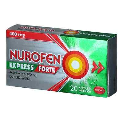 Nurofen Express Forte 400mg kapsułki  zamów na apo-discounter.pl