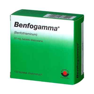Benfogamma 50 mg drażetki  zamów na apo-discounter.pl