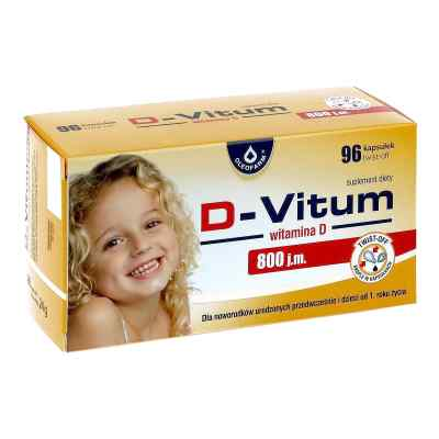 D-Vitum 800 j.m. witamina D dla niemowląt kapsułki twist-off  zamów na apo-discounter.pl