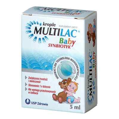 Multilac Baby Synbiotyk krople  zamów na apo-discounter.pl