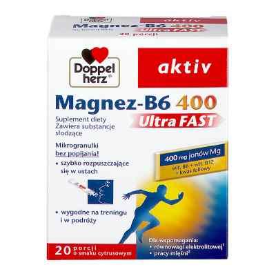 Doppelherz aktiv Doppelherz magnez Ultra Fast saszetki  zamów na apo-discounter.pl