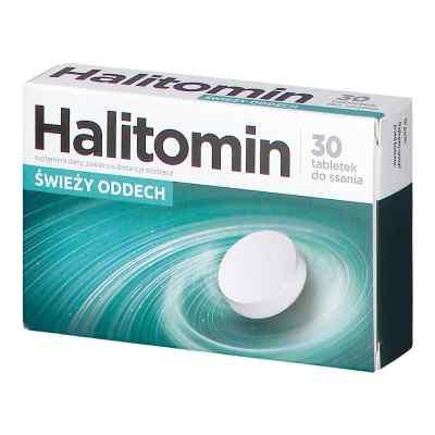 Halitomin tabletki do ssania  zamów na apo-discounter.pl