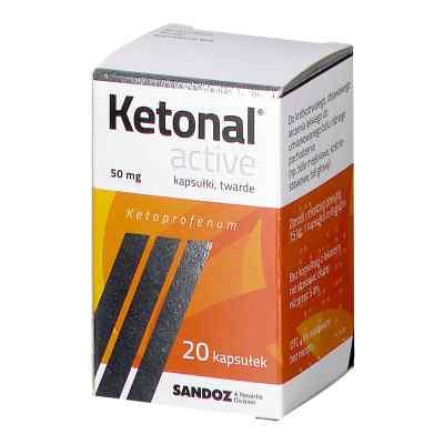 Ketonal Active 50mg kapsułki  zamów na apo-discounter.pl