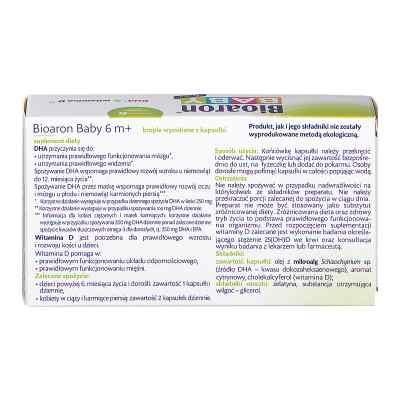 Bioaron Baby od 6 m-ca krople wyciskane z kapsułki  zamów na apo-discounter.pl