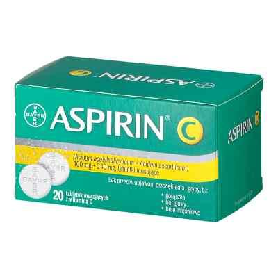 Aspirin C tabletki musujące  zamów na apo-discounter.pl