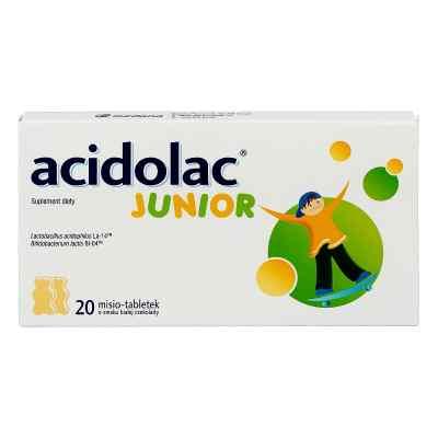 Acidolac Junior misio tabletki o smaku białej czekolady  zamów na apo-discounter.pl