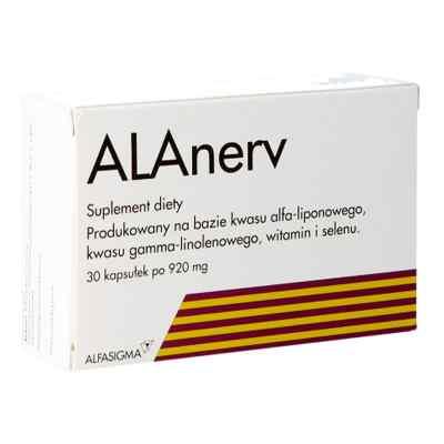 ALAnerv 920 mg kapsułki  zamów na apo-discounter.pl