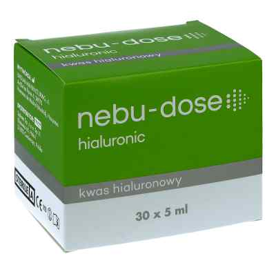 Nebu-Dose hialuronic roztwór izotoniczny do inhalacji 30 ampułek  zamów na apo-discounter.pl