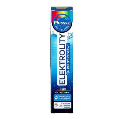 Plusssz Elektrolity+100% Multiwitamina  zamów na apo-discounter.pl