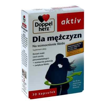 Doppelherz aktiv dla mężczyzn kapsułki  zamów na apo-discounter.pl