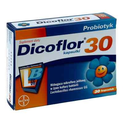 Dicoflor dla dzieci kapsułki  zamów na apo-discounter.pl