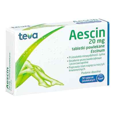 Aescin tabletki 20 mg  zamów na apo-discounter.pl