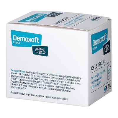 Demoxoft Clean chusteczki do higieny powiek  zamów na apo-discounter.pl