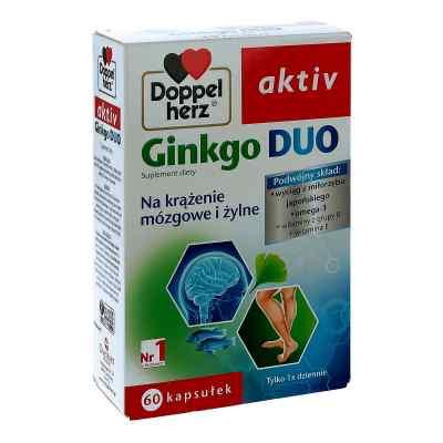 Doppelherz aktiv Ginkgo Duo kapsułki  zamów na apo-discounter.pl