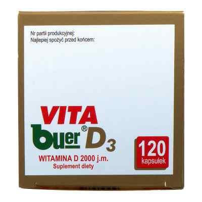 VITA buer D3 kapsułki  zamów na apo-discounter.pl