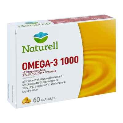 Naturell Omega-3 1000 kapsułki  zamów na apo-discounter.pl