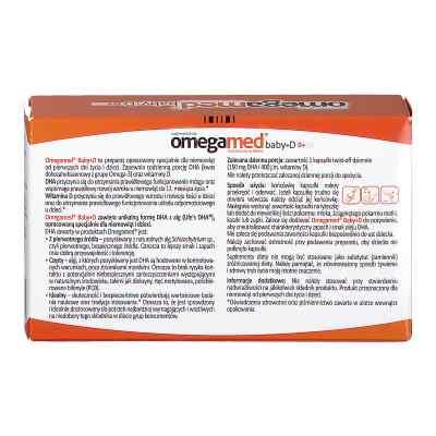 Omegamed Baby+D 0+ krople wyciskane z kapsułki  zamów na apo-discounter.pl