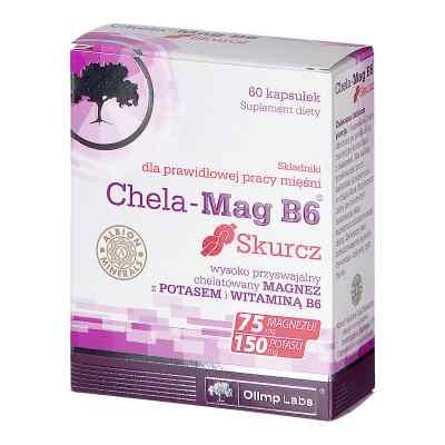 Olimp Chela-Mag B6 Skurcz kapsułki  zamów na apo-discounter.pl