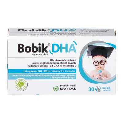 BOBIK DHA kapsułki twist off   zamów na apo-discounter.pl