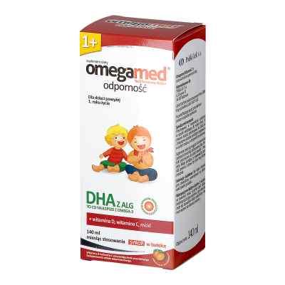 Omegamed Odporność 1+ syrop  zamów na apo-discounter.pl