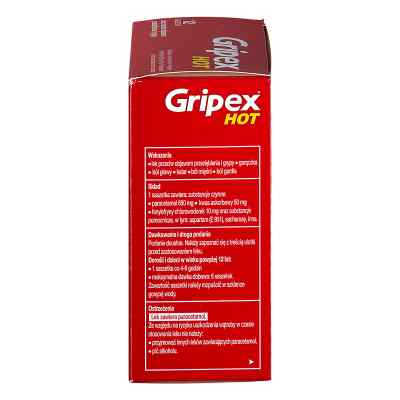 Gripex Hot (HotActiv) saszetki  zamów na apo-discounter.pl
