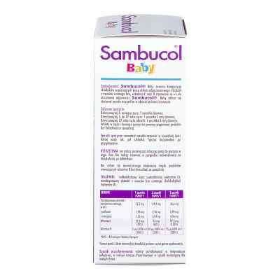 Sambucol Baby proszek do przygotowania zawiesiny doustnej  zamów na apo-discounter.pl