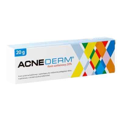 ACNE-DERM krem przeciwtrądzikowy kwas azelainowy 20%  zamów na apo-discounter.pl