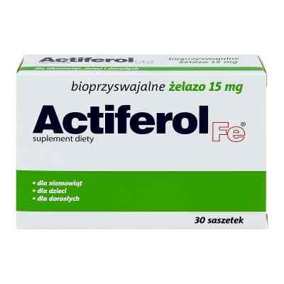 Actiferol Fe 15 mg proszek do rozpuszczania  zamów na apo-discounter.pl