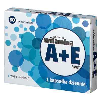 Witamina A+E kapsułki  zamów na apo-discounter.pl
