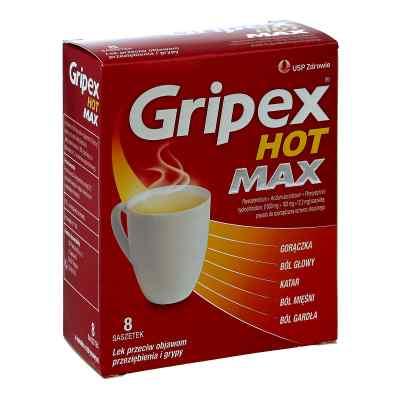Gripex Hot Max saszetki  zamów na apo-discounter.pl