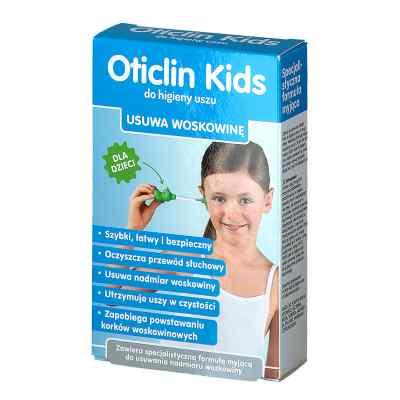 Oticlin Kids do higieny uszu  zamów na apo-discounter.pl