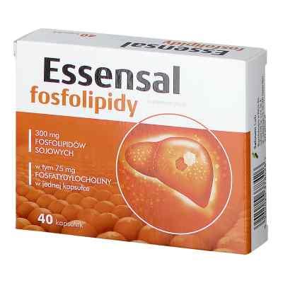 Essensal Fosfolipidy kapsułki  zamów na apo-discounter.pl