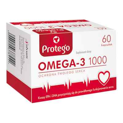 Protego Omega-3 1000 kapsułki  zamów na apo-discounter.pl