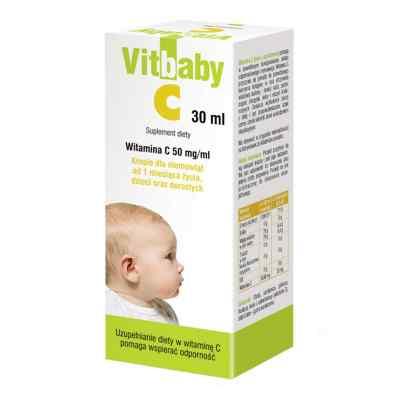 Vitbaby C krople z witaminą C  zamów na apo-discounter.pl