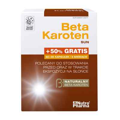 Beta Karoten Sun kapsułki  zamów na apo-discounter.pl