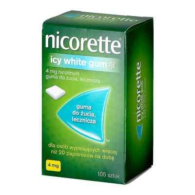 Nicorette Icy White guma do żucia  zamów na apo-discounter.pl