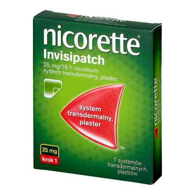 Nicorette Invisipatch Plastry transdermalne  zamów na apo-discounter.pl