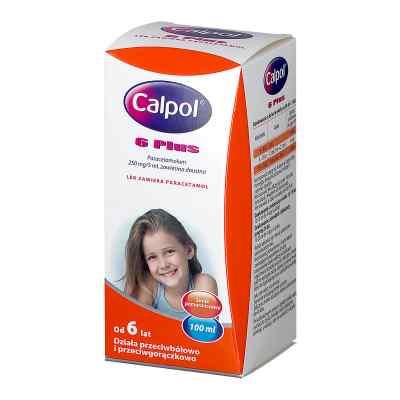 Calpol 6 Plus zawiesina dla dzieci  zamów na apo-discounter.pl