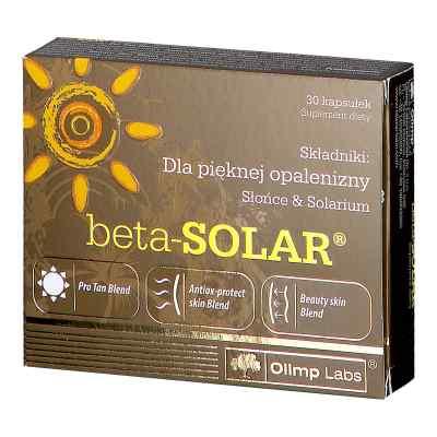 Olimp Beta Solar kapsułki  zamów na apo-discounter.pl