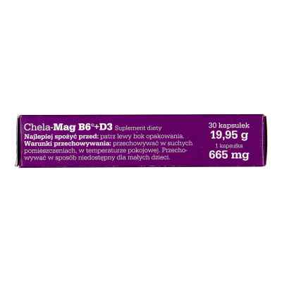 Olimp Chela-Mag B6+D3 kapsułki  zamów na apo-discounter.pl
