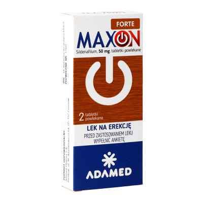 Maxon Forte 50 mg tabletki powlekane  zamów na apo-discounter.pl