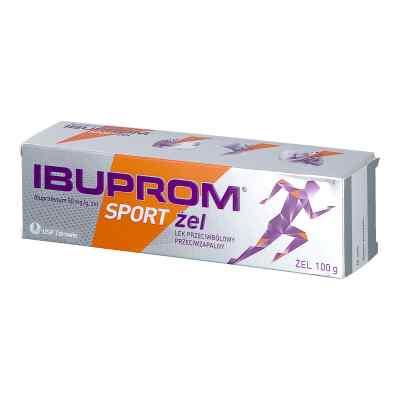 Ibuprom Sport żel   zamów na apo-discounter.pl