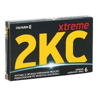 2 KC Xtreme tabletki  zamów na apo-discounter.pl