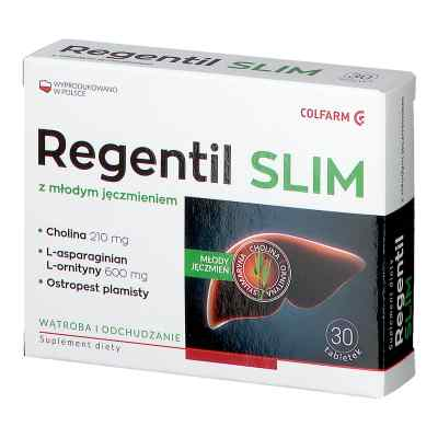 Regentil SLIM tabletki  zamów na apo-discounter.pl