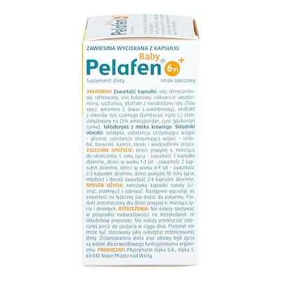 Pelafen Baby 6m+ kapsułki twist-off  zamów na apo-discounter.pl